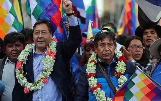 Rede des bolivianischen Vizepräsidenten