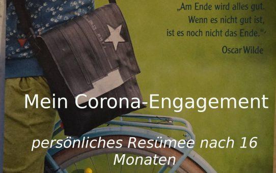 Mein Corona-Engagement
