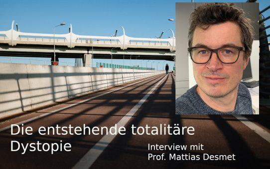 Die entstehende totalitäre Dystopie: Interview mit Professor Mattias Desmet
