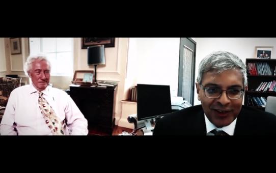 Stanford Professor im Corona-Gespräch mit ehemaligem Richter